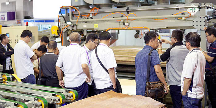 "Die ""Ifmac"" in Jakarta wird Teil der Woodworking Shows Worldwide der Deutschen Messe AG"